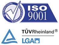 ISO9001:2015 zertifizierte Produktionsstätte